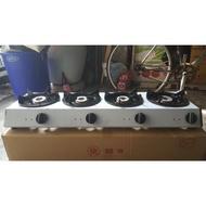 【營業用】四口快速爐(全新)瓦斯爐 中壓 低壓 液化/三口爐 海產爐 小火鍋