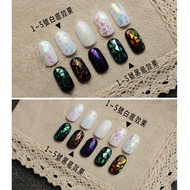 Glass Stickers Japan And South Korea Symphony Nail Art Mirror Nail Sticker