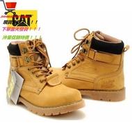 【JHH】CAT-男鞋 工裝鞋 大黃靴 卡特休閑鞋 低幫戶外鞋 經典短靴518