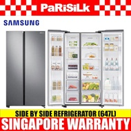 Samsung RS62R5004M9/SS Side by Side Refrigerator (647L), 2 Ticks