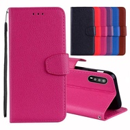 PREMIUM PRODUCTMOONMINI Huawei Nova 3i Case PU Leather Mobile Phone Case Cover Anti-scratch Dropproof Phone Protective Case