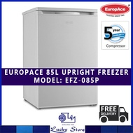 EUROPACE 85L SINGLE DOOR UPRIGHT FREEZER * EFZ3081T * 5 YRS WARRANTY ON COMPRESSOR * FREE DELIVERY