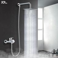 304不銹鋼頂噴大花灑噴頭浴室增壓淋雨洗澡蓮蓬頭淋浴頭單頭頂噴【帝一3C旗艦】YTL 雙12購物節