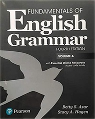 Fundamentals of English Grammar 4e Student Book A with Essential Online Resources International Edition 9780134661124