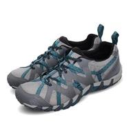 【MERRELL】兩用鞋 Waterpro Maipo 2 女鞋 登山 越野 溯溪 耐磨 黃金大底 快乾 灰 藍(ML034092)