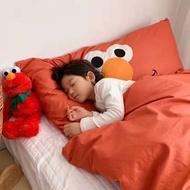 【liun】2018秋冬款兒童防踢被大臉怪多功能靠墊睡袋 大睡袋