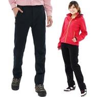 【遊遍天下】GLOBETEX顯瘦防水防風透濕刷毛褲雪褲(M-5L)