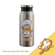 白爛貓真空保溫保冷瓶-不鏽鋼,580ml(含運費)