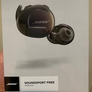 Bose Soundsport free 無線藍芽耳機 全新黑色