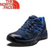 【The North Face 美國 男款 GTX 低筒健行鞋/深藍】31SB/防水透氣/耐磨登山鞋/越野鞋/健行鞋