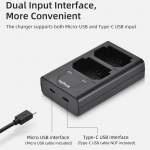 全新 Fujifilm 富士 X-T4 XT4 GFX100S W235 電池 適用 KingMa 液晶顯示 雙電池 充電器