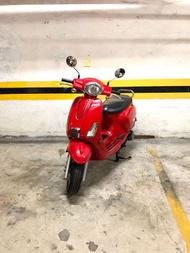CPI捷穎 Bravo 125cc 2015年 碟剎 全原廠原漆無改裝,超級好騎好發,CP值高的上下班通勤、買菜、接送代步不錯選擇,快把握~