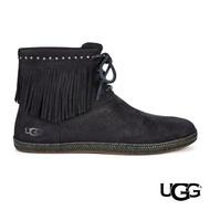 【UGG】Alexia 流蘇綁帶短靴(復古造型短靴)
