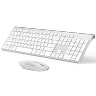 Rechargeable 106 Keycaps Wireless Keyboard and Mouse Korean/French/German/English/Italian/Spanish Keyboard Mouse Set