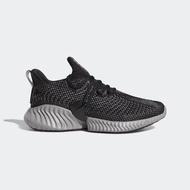 【adidas 愛迪達】Adidas Alphabounce Instinct M    男鞋 運動 慢跑 休閒 無縫 舒適 黑灰(BC0626)