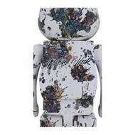 BE@RBRICK積木熊正品Jackson Pollock Studio SPLASH 1000% 潑墨