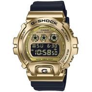 【CASIO 卡西歐】G-SHOCK 嘻哈金屬電子手錶(GM-6900G-9)