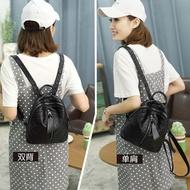 ▦﹊กระเป๋าเป้สะพายหลังผู้หญิงน้ำ 2021 แฟชั่นเกาหลีรุ่นใหม่ทั้งหมด - จับคู่กระเป๋าเป้สะพายหลังขนาดเล็กสำหรับเดินทางหนังน