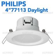 "Philips 4"" Led Downlight 77113 Daylight"