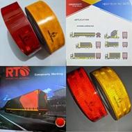 Car Truck Reflective Sticker Container Box Reflective Sticker Reflective Sticker Kir Test Light