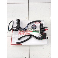 Brembo cnc black Brake Master 18x18 universal matic Rear Brake Or Clutch