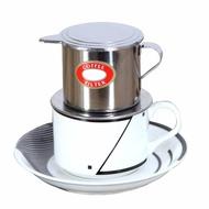 现货*越南咖啡壺 咖啡滴濾壺 越南咖啡滴滴壺 不銹鋼手沖咖啡濾杯 大號