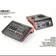 Power mixer 8 chanel Ashley studio4 original