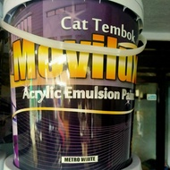 cat tembok MOVILUX anti noda waterproof 20kg interior & exterior