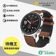華米Amazfit GTR特仕版智慧手錶-不鏽鋼 A1902