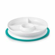 OXO tot 好吸力分隔餐盤-靚藍綠★愛兒麗婦幼用品★