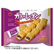 +東瀛go+ BOURBON 北日本 葡萄乾夾心餅乾 焦糖奶油夾心 10枚入 日本原裝進口 日本餅乾 年貨 拜拜
