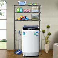【巴塞隆納】巴塞隆納─三層層板伸縮洗衣機馬桶置物架V型設計強化結構