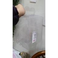 材料王批發-編號E131------PVC透明盒 (大ㄉ手提