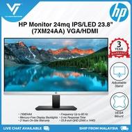 HP 24mq 23.8-inch QHD 1440p IPS Display With LED Backlight Monitor - 7XM24AA