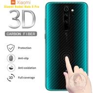 Garskin Carbon Xiaomi Redmi Note 8 Pro Skin Back 3D Anti Gores Belakang