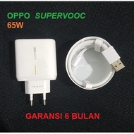Oppo Charger 65w Supervooc Reno 4 Pro Reno 3 A5 A9 2020
