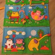 Combi寶寶布書遊戲墊多功能床圍二手