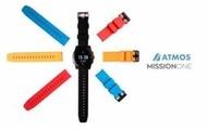 台灣潛水---ATMOS MISSION ONE 潛水電腦錶 彩色錶帶(黑白紅橘藍)