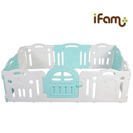 韓國 IFAM G尺寸遊戲圍欄/門欄/護欄-綠白搭 好窩生活節