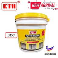 PUTTY FILLA 5KG PUTTY FILLER WALL *READY STOCK IN MALAYSIA*