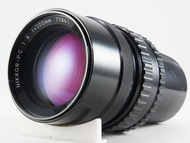 **日光銀鹽** Nikon Nikkor-P.C 200mm F4 (Bronica EC/S2用)