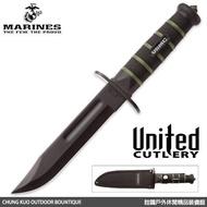詮國 United USMC Blackout 戰鬥直刀 / UC-3156