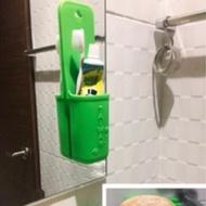 MIT騎龍 現貨💕安全矽膠 無毒 環保 浴室吊袋 皂盆 實用 美觀 好清洗 歐盟檢測 安全無毒 環境保護材質
