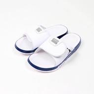 Nike Jordan Hydro 11 XI 男鞋 白藍 魔鬼氈 拖鞋