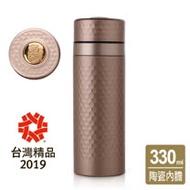 《乾唐軒活瓷》金石保溫杯 / 古典金+黃金釉