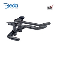 DEDA ELEMENTI AERO BAR BASE BAR+CLIP-ON+PAD+EXTENSION ESPRESSO TT - polish on black 42cm E-E