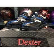 (免運全配)美國Dexter SST 8 SE 第8代 雙腳可換底真皮保齡球鞋全配組-黑藍