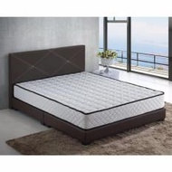 Queen Bed + Queen Size 9inch Spring Mattress (Furniture warehouse)