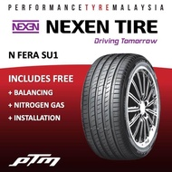 (APP PURCHASE) Nexen N Fera Su1 16 17 18 19 20 inch Tyre (FREE INSTALLATION) 185/55R16 195/55R16 205/45R16 205/50R16 205/45R17 215/45R17 215/50R17 225/45R17 235/45R17 215/40R18 225/40R18 235/35R19 245/45R19 (PHONE APP PURCHASE ONLY)