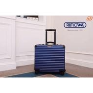 實拍代購RIMOWA 日默瓦行李箱 18寸鋁鎂合金登機箱 機長箱 拉箱旅行箱